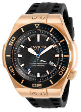 Invicta Men's Pro Diver Automatic Stainless Steel Black Silicone Watch 25889