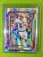 BAKER MAYFIELD PRIZM ROOKIE CARD JERSEY #6 OU REFRACTOR /99 SP BROWNS 2019 *VIP*