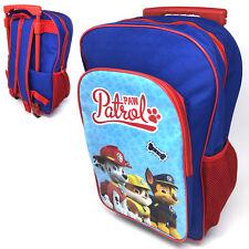 Paw Patrol Deluxe Backpack Trolley Bag Luggage