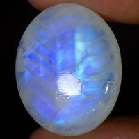 100% NATURAL TOP QUALITY RAINBOW MOONSTONE OVAL CABOCHON LOOSE GEMSTONES GS-59