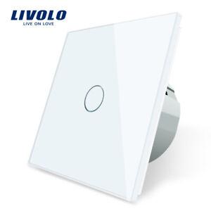 Livolo Touch Wand Glas Touch Klingel Schalter Türklingel Schalter,CE