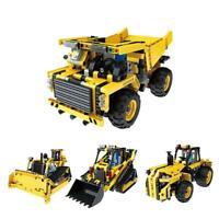 2.4G 4CH DIY Assembling Vehicle RC Building Block Electric Engineering Truck Car