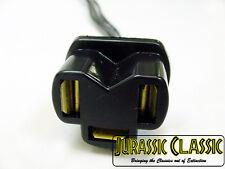 Chevrolet 3 Tab Connector Adapter Socket Headlight Bulb Flasher Pigtail Plug