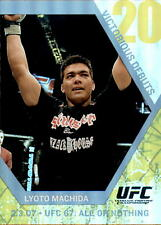 2009 Topps UFC Round 1 Victorious Debut #VD5 Lyoto Machida Card