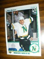 1990-91 Upper Deck French #46 Mike Modano Minnesota North Stars Rookie  NrMT