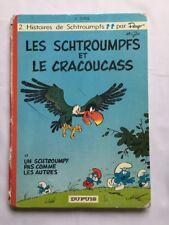 BD - Les Schtroumpfs et Le cracoucass T 5 / EO 1969 / PEYO / DUPUIS 2 HISTOIRES