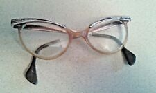 Vintage Retro 50's Sexy Womens Cats Bifocal Eye Glasses Liberty 5 1/2 Bakelite??
