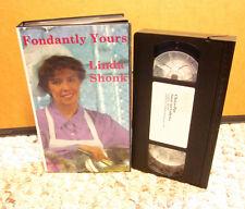 LINDA SHONK baking Fondantly Yours VHS cake making Choco-Pan pastries cook 1992