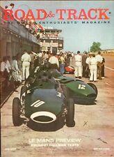 1958 Road & Track Magazine: Le Mans Preview/Peuget & Hillman Tests