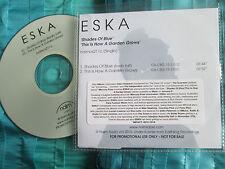 ESKA Shades Of blue   naim label naimcs 211c Promo CDr Single