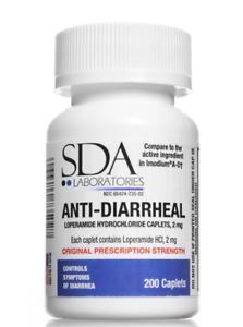 200 Anti-Diarrheal pills, 2mg, NO BLISTER PACKS + Free USA ship + INTL ship okay