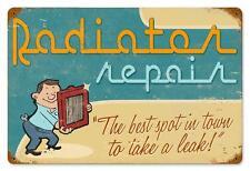 Radiator Repair Vintage Metal Sign