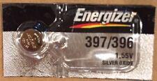 1 Battery Energizer 397/396 SR725SW Silver Oxide Watch Battery 1.55V- USA SELLER