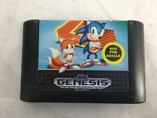 Sonic The Hedgehog 2 (Sega Genesis 1992) Game Cartridge -Cz