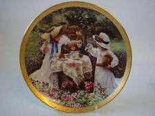 BRADEX & RECO ENCHANTED GARDENS BY SANDRA KUCK SWEETEST DELIGHTS PLATE