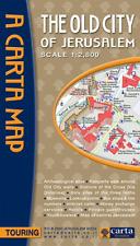 Carta Map The Old City of Jerusalem