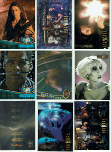 Farscape Promos, Chase Card Sets & Singles Selection from Various Sets/Series