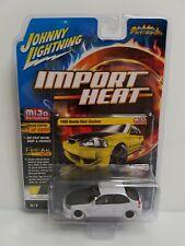 Rare Johnny Lightning Import Heat 1998 Honda Civic Custom White Lightning Chase