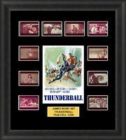 James Bond Thunderball 1965 Framed 35mm Film Cell Memorabilia Filmcells Movie Ce