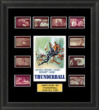 James Bond Thunderball 1965 Framed 35mm Film Cell Memorabilia Filmcells Movie Ce