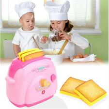 Plastic Children Kids Mini Toaster Pretend Play Home Appliances Toys Gifts LJ