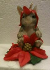 Charming Tail Orn - Christmas Flowers 87/304