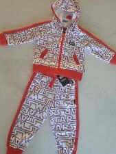 Bonds Star Wars Tracksuit Hoodie Track Pants Size 1 (12 to 18 months)