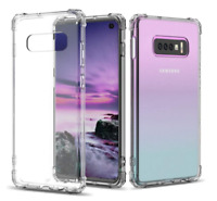 For Samsung Galaxy S10 Plus Case Clear Slim Shockproof Anti-Scratch Hard Back
