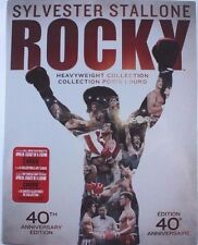 Rocky Heavyweight Collection Blu ray 40th Anniversary Edition 6 Movies+Cards NEW