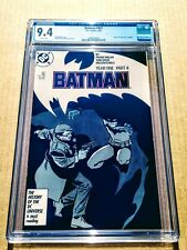 Batman #407 CGC 9.4 NM Year One Part 4! Frank Miller! DC Comics White Pages!