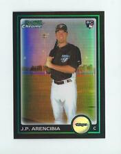 2010 Bowman Chrome Draft Refractor #BDP103 J.P. Arencibia Rookie Blue Jays