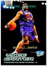 ULTRA FLEER 1999 VINCE CARTER NBA TORONTO RAPTORS SUPERSTAR MINT CARD #1