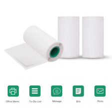 3 Rolls 56*30mm Adhesive Thermal Paper Sticker Label f/ Peripage Thermal Printer