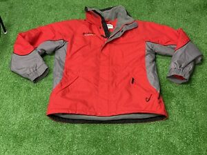 Columbia Red Cross Terra Insulated Hooded Winter Jacket Coat Boy's XL 18/20