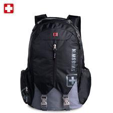 """Swiss 16"""" waterproof Laptop Backpack Travel School Backpack shoulder Bags SW9176"""