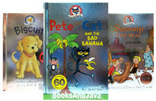 I Can Read My First - Level 1 Pete the Cat,Biscuit,Sammy Seal (3 Hardcover Set)
