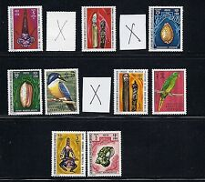 New Hebrides (Fr) 1972 definitives (missing 3 lower values) Vf Mnh