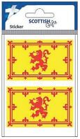 Scottish Car Bumper Window Sticker Decal Vinyl Medium Scotland Lion Rampant Flag