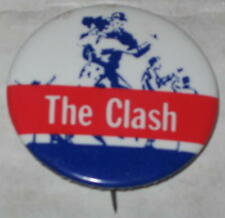 """The Clash Tour Pin 1980's Approx 1.5"""""""