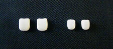 Milk Glass Teeth for antique French or German  bisque doll size 1