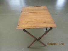 Vintage Automobile 1920's Era Touring Car Running Board Picinic Table
