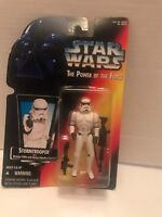 Star Wars POTF Stormtrooper w/ Blaster Rifle Kenner 1995
