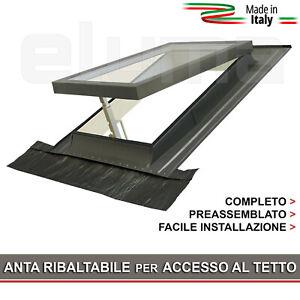 Lucernario / Finestra da tetto - CLASSIC VASISTAS 48x90 (Doppio Vetro CE)