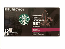 Starbucks House French Roast 60 Count Keurig Coffee Pods
