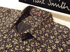 "Paul Smith Chemise Homme 🌍 Taille 18"" (Tour de Poitrine 48"") 🌎 RRP £ 95+ 📮 fleuri style liberty"