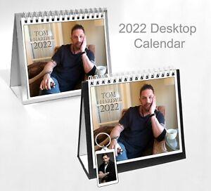 Tom Hardy 2022 Office Desktop Holiday Calendar + Key ring