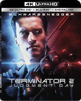 Terminator 2: Judgement Day (4K Ultra HD+Blu-ray, 2-Disc Set) Free Shipping NEW