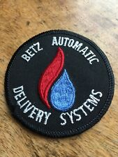 """Vtg Betz Delivery Systems 3"""" Embroidered Patch Energy Engineering Law Automatic"""