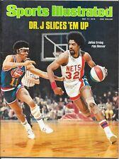Sports Illustrated 1976 JULIUS ERVING New York Nets CHUCK WILLIAMS Denver NoLABL