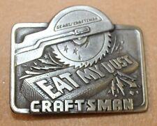 RARE 1995 Great American Buckle CO  GAP eat my dust sears craftsman belt buckle